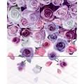 Lotus Тайра романтик виолет декор-панно 60х50