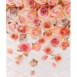 Lotus Тайра романтик крем декор-панно 60х50