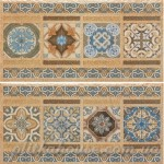 Бордюр (20x40) CENEFA 1503 TIERRA